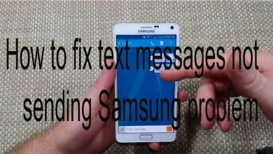 How to fix text messages not sending Samsung