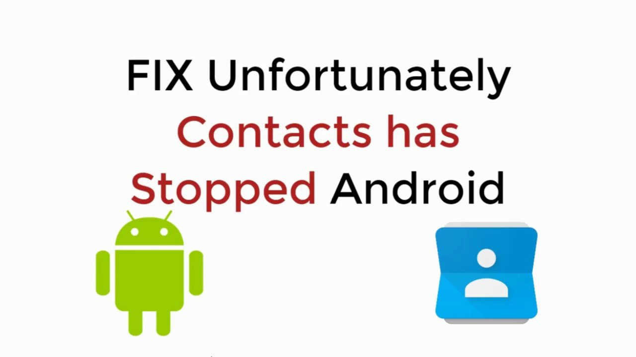 unfortunately contacts has stopped