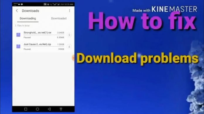Fix uc browser download stuck | download problem 2019